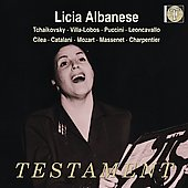 Tchaikovsky, Villa-Lobos, Puccini, Leoncavallo, etc / Licia Albanese