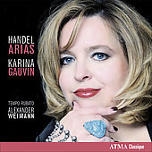 Handel: Arias / Gauvin, Weimann, Tempo Rubato
