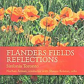 Burge: Flanders Fields Reflections, One Sail, etc / Arman, Sinfonia Toronto