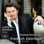Beethoven: Cello Sonatas / Friedrich Kleinhapl, Andreas Woyke