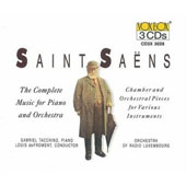 Camille Saint-Sa&#235;ns: Chamber & Orchestral Pieces For Various Instruments