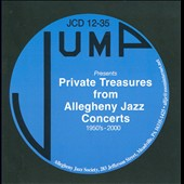 Various Artists: Private Treasures From Allegheny Jazz Concerts 1950's-2000
