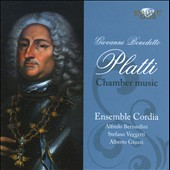 Platti: Chamber Music / Ensemble Cordia