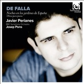 Manuel de Falla: Nights in the Gardens of Spain / Javier Perianes, piano