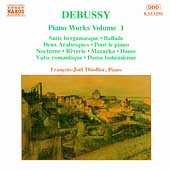 Debussy: Piano Works Vol 1 / François-Joël Thiollier