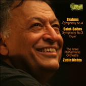 Brahms: Symphony No. 4; Saint-Sa&#235;ns: Symphony No. 3 