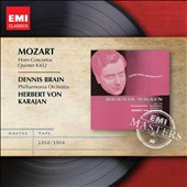 Mozart: Horn Concertos; Quintet K. 452 / Dennis Brain
