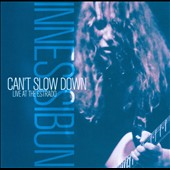 Innes Sibun: Can't Slow Down: Live At the Estrado [Digipak]
