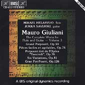 Giuliani: Duos for Flute and Guitar (3) / Helasvuo, Savijoki