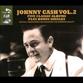 Johnny Cash: Five Classic Albums Plus Bonus Singles, Vol. 2 [Box]