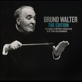Bruno Walter: The Edition / Columnbia SO; New York PO [39 CDs - the late studio recordings]