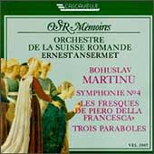 OSR Memories - Martinu: Symphony no 4, Les Fresques, etc