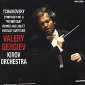 Tchaikovsky: Symphony no 6, etc / Gergiev, Kirov Orchestra