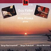 Rachmaninoff, Prokofieff, Messiaen / Guy Fallot, Rita Possa