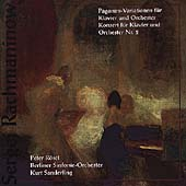 Rachmaninov: Piano Concerto no 2, Rhapsody / R&#246;sel, et al