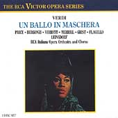 Verdi: Un Ballo in Maschera / Leinsdorf, Price, et al