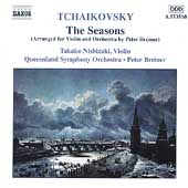 Tchaikovsky: The Seasons / Breiner, Nishizaki, Queensland SO
