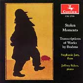 Stolen Moments - Transcriptions of Works by Brahms