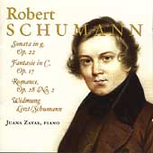Schumann: Piano Sonata, Fantasy, Romance, etc / Zayas