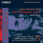 Bach: Cantatas Vol 27 / Suzuki, Ryd&#233;n, Bertin, Kooij, T&#252;rk