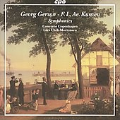 Gerson, Kunzen: Symphonies / CoCo, Mortensen