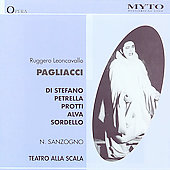 Historical - Leoncavallo: Pagliacci / Sanzogno, et al