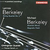 Lenox & Michael Berkeley / Chilingirian Quartet