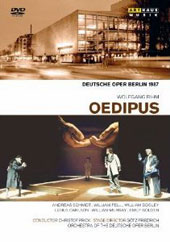 Wolfgang Rihm: Oedipus / Andreas Schmidt, William Pell, William Dooley, William Murray. Christof Prick [DVD]