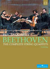 Beethoven: The Complete String Quartets / Belcea Quartet [5 DVD]