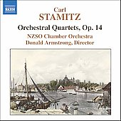 Stamitz: Orchestral Quartets Op 14 / Armstrong, NZSO CO