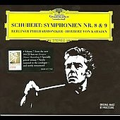 Schubert: Symphonies no 8 & 9 / Karajan, Berlin PO