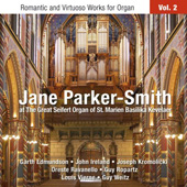 Jane Parker-Smith at the Great Seifert Organ of St. Marien