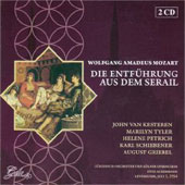 Mozart: Die Entfuhrung aus dem Serail, etc / Ackermann, Tyler, Kesteren, Petrich, et al