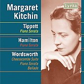 Tippett, Hamilton, Wordsworth: Piano Works / Margaret Kitchin