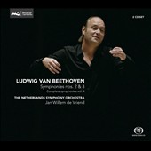 Beethoven: Complete Symphonies Vol. 4 - Symphonies Nos. 2 & 3 / de Vriend