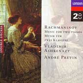 Rachmaninov: Music for Two Pianos / Ashkenazy, Previn