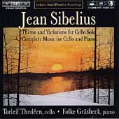 Sibelius: Complete Music for Cello & Piano /Thedéen,Gräsbeck