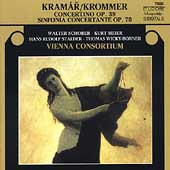 Krommer: Sinfonia concertante, Concertino / Schober, et al