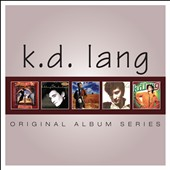 k.d. lang: Original Album Series [Slipcase]