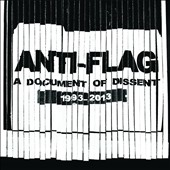 Anti-Flag: A Document of Dissent: 1993-2013 [Digipak] *