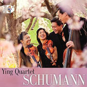 Schumann: String Quartets (3) / Ying Quartet [CD+Blu-Ray Audio]