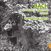 J.S. Bach: Sonatas; Partitas; Suites / Hopkinson Smith, lute [4 CDs]