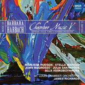 Music of Barbara Barbach, Vol. 10: Chamber Music V