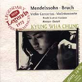 Mendelssohn, Bruch: Violin Concertos / Chung, Dutoit, Kempe