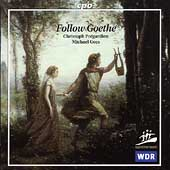 Follow Goethe / Christoph Pr&eacute;gardien, Michael Gees