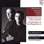 French Music on Two Harpsichords / Niquet, Beauséjour