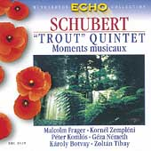 Schubert: Trout Quintet, Moments musicaux / Frager, et al