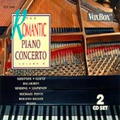 The Romantic Piano Concerto Vol 5: Medtner, Liapunov, Sinding / Michael Ponti, piano