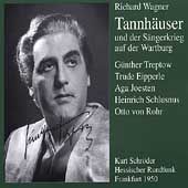Wagner: Tannh&auml;user / Schr&ouml;der, Treptow, Eipperle, et al