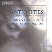 Antiquities - Machaut, Bach, Isaac, Dowland / Imai, Miki